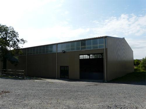 DRS - Vue extérieur Halle de Loisir