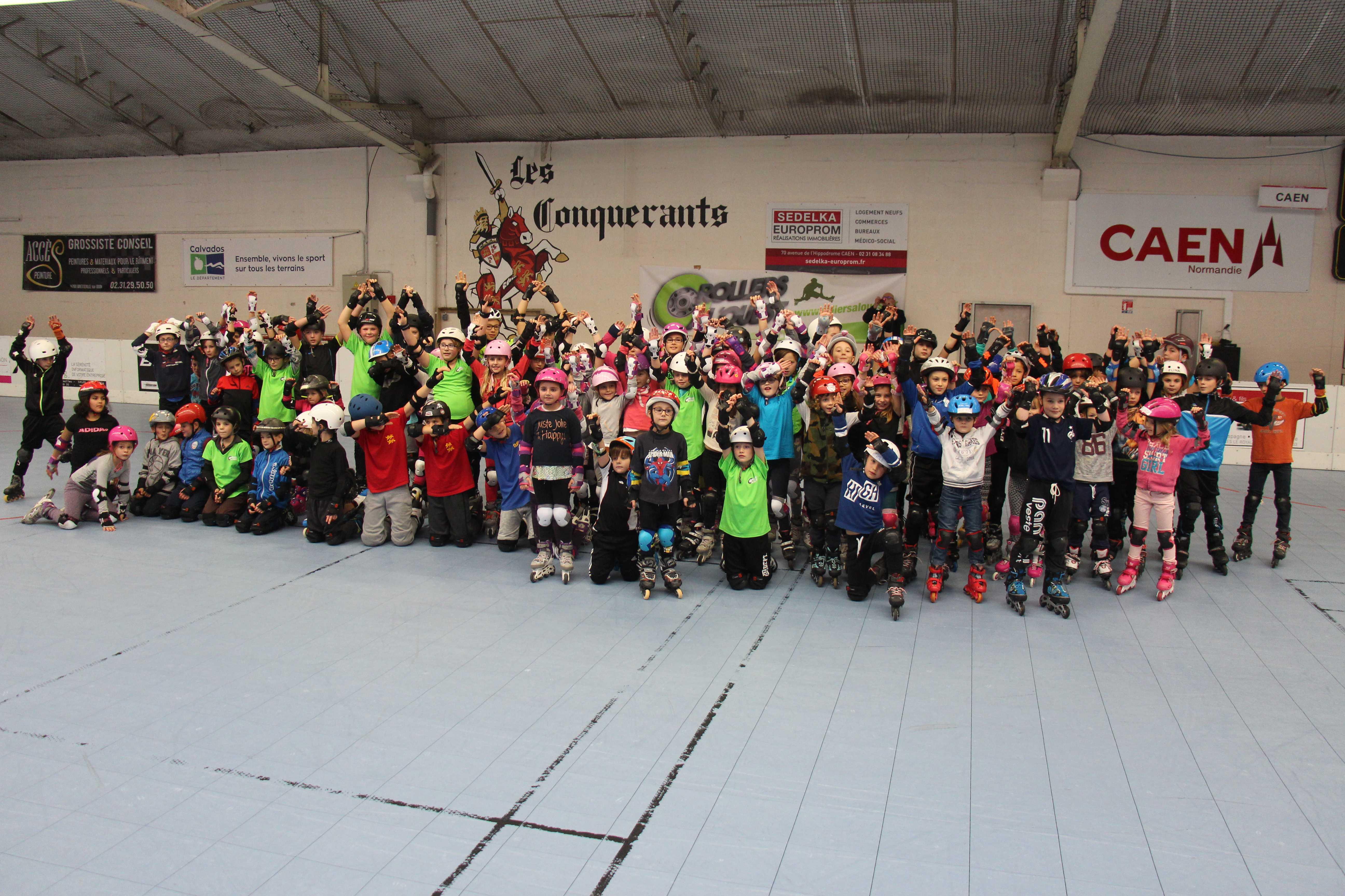 Challenge KID'S ROLLER 2016/2017 1ère Manche Caen