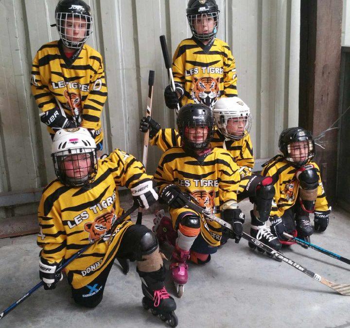 Tournoi école de hockey à Luc sur  Mer