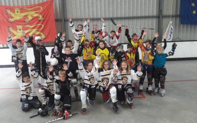 Roller Hockey Jeunesse : 1er entrainement Donnay / Luc pour les U11-U13 et U15