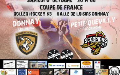 Match de Coupe de France – Donnay recoit Petit Quevilly