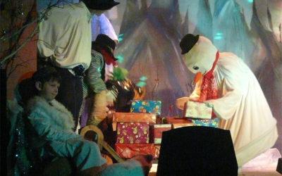 Arbre de Noël 2011 «Le Père Noël et le Voleur»